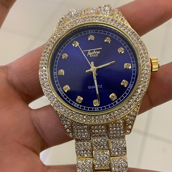 Mens Wrist Watch Frosted Ice watch